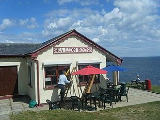 Sea Lion Rocks railway station - Image: Sea Lion Rocks Tearoom