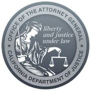 Attorney General of California - Image: Seal of the Attorney General of California