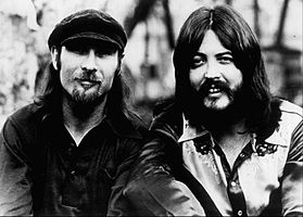 Seals (left) and Crofts in 1975