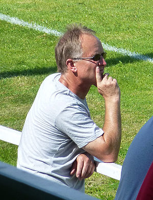 Sean O'Driscoll - Sean O'Driscoll watching AFC Wulfrunians in July 2014