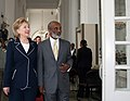 Secretary Clinton and Haitian President Before Press Briefing (3449905893).jpg