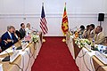 Secretary Kerry Laughs With Sri Lankan Foreign Minister Samaraweera Before Bilateral Meeting in Colombo (16716842874).jpg