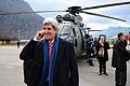 Secretary Kerry Pauses Before Helicopter Flight Across Switzerland (12102690713).jpg