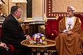 Secretary Pompeo Meets with the Sultan of Oman Haitham bin Tariq Al Said (49565463757).jpg