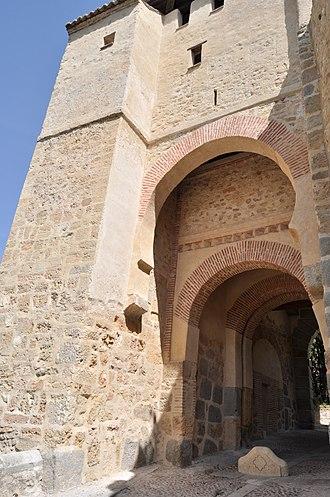 Puerta de Santiago (Segovia) - West façade of the gate