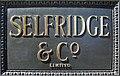 Selfridges nameboard.JPG