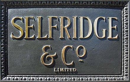 b3165da1892d1 Selfridges - Wikiwand