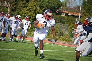 Alex Collins (American football) - Image: Semper Fidelis All American Bowl East team practice, Day 1 130104 M EK802 362