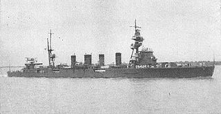 Japanese cruiser <i>Sendai</i> ship