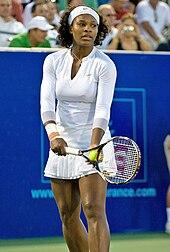 Serena Williams juli 2008