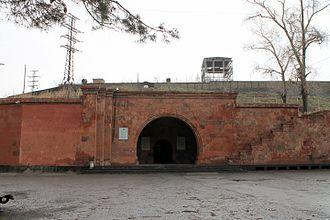 Sevan–Hrazdan Cascade - Gate of the Sevan HPP