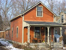 A Single Shotgun House In Bloomington, Indiana