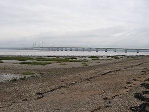 Severn Beach - Image: Severn Beach foreshore