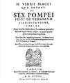 Sextus Pompeius Festus - De verborum significatu - 1604.png