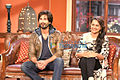 Shahid Kapoor and Sonashi Sinha promoting R... Rajkumar on Comedy Nights with Kapil.jpg