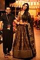 Shantanu Goenka's KRUHUN at Lakme Fashion Week, Winter Festive - Day 2 by Sou Boyy, Sourendra Kumar Das - Shantanu with show-stopper at Grand Hyatt Mumbai..jpg