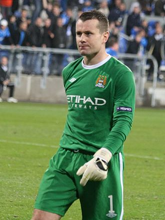 Shay Given - Given playing for Manchester City in 2010