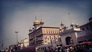 Gurudwara Sis Ganj Sahib - Sheesh Ganj Gurudwara