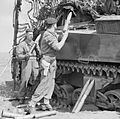 Shells being loaded into a Sherman tank in the Anzio bridgehead, Italy, 5 May 1944. NA14605.jpg
