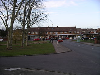 Eastern Green - Shops on Sutton Avenue and the green opposite