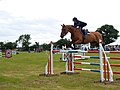 Show Jumping at the Castle Ashby Country Fair, near Brafield, Northants. - geograph.org.uk - 252653.jpg