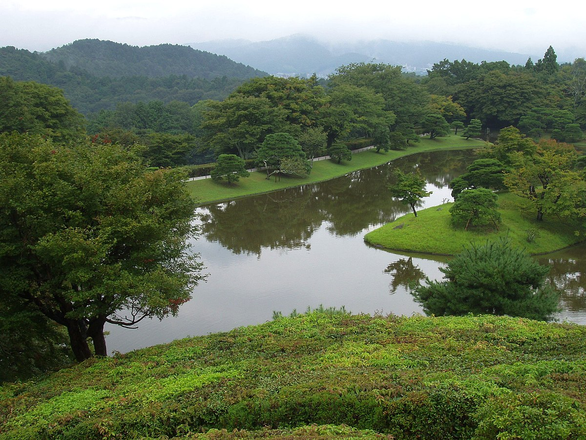 Shugakuin imperial villa wikipedia for Villa garden