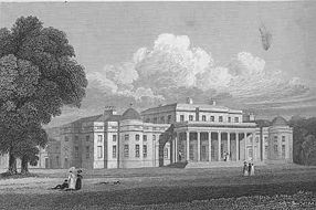Shugborough Hall in the 1820s.