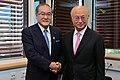 Shunichi Suzuki and Yukiya Amano 20130701.jpg