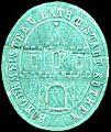Siegelmarke Bürgermeister und Rath der Stadt Köthen W0233732.jpg
