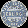 Siegelmarke Gemeinde-Verwaltung Egling W0352391.jpg