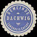 Siegelmarke Gemeinde Dachwig Landkreis Erfurt W0383076.jpg
