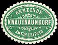 Siegelmarke Gemeinde Knautnaundorf - Amtshauptmannschaft Leipzig W0252480.jpg