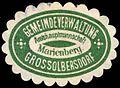 Siegelmarke Gemeindeverwaltung Grossolbersdorf - Amtshauptmannschaft Marienberg W0261976.jpg