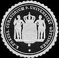 Siegelmarke Königlich Preussisches Curatorium der Universität Göttingen W0220439.jpg