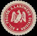 Siegelmarke K.Pr. 5. Landwehr Division W0283653.jpg