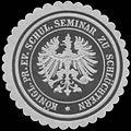 Siegelmarke K.Pr. evang. Schul. Seminar zu Schlüchtern W0361880.jpg