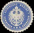 Siegelmarke K. Marine Kommando S.M.S. Nürnberg W0357696.jpg