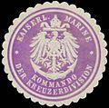 Siegelmarke K. Marine Kommando der Kreuzerdivision W0357377.jpg