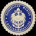 Siegelmarke Kaiserliche Marine - I. Marineinspektion W0239778.jpg