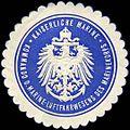 Siegelmarke Kaiserliche Marine - Kommando des Marine - Luftfahrwesens des Marinekorps W0225842.jpg