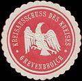 Siegelmarke Kreisausschuss des Kreises Grevenbroich W0338370.jpg