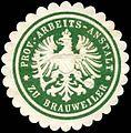 Siegelmarke Prov. - Arbeits - Anstalt zu Brauweiler W0254037.jpg