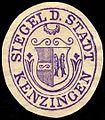Siegelmarke Siegel der Stadt Kenzingen W0235945.jpg