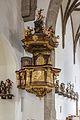Sierning Pfarrkirche Südtor Kanzel.jpg