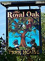 Sign for the Royal Oak - geograph.org.uk - 1469582.jpg