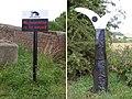 Sign posts at Denton Bridge - geograph.org.uk - 30124.jpg