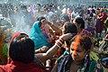 Sindoor Play - Chhath Puja Ceremony - Baja Kadamtala Ghat - Kolkata 2013-11-09 4298.JPG
