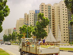 Punggol - Punggol in 2002, with the first phase of the Punggol 21 plan completed