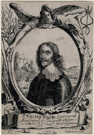 William Waller - Portrait of Sir William Waller, 1643