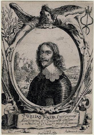 William Waller - Portrait of Sir William Waller, 1643